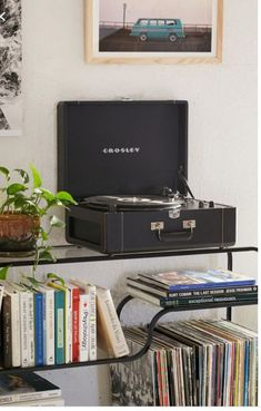 Shop Crosley Keepsake Black Vinyl Record Player at Urban Outfitters today. We carry all the latest styles, colours and brands for you to choose from right here. Crosley Record Player, Vinyl Record Player, Record Players, Vinyl Records, Vinyl Music, Record Player Urban Outfitters, Usb Turntable, Modern Artists, Cleaning Wipes