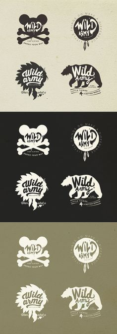 Wild Army, Kids Revel Clothes on Behance
