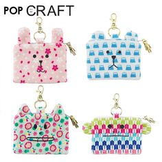 CRAFTHOLIC ACCENT 卡通创意生活小件 Wa!POP系列卡包-tmall.com天猫 Coin Purse, Couture, Purses, Wallet, My Love, Toys, Crafts, Accessories, Activity Toys