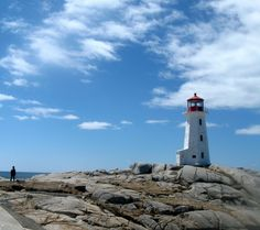 Peggy's Cove on the South Shore of Nova Scotia