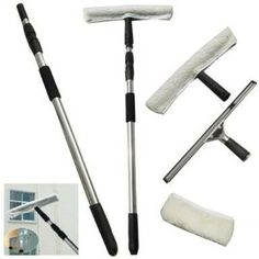 Need Window Cleaning Equipment? Check out our supply of squeegees, telescopic poles, window washers, spare sleeves and spare Pulex rubbers Window Cleaning Equipment, Telescopic Pole, Cleaning Companies, Professional Cleaning, Window Cleaner, Cleaning Service, Cleaning Solutions, Telescope, Windows