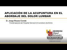 APLICACIÓN DE LA ACUPUNTURA EN EL ABORDAJE DEL DOLOR LUMBAR - YouTube