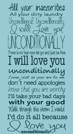 Katy Perry, Unconditionally