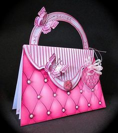 Card Gallery - Quilted Handbag Card Mini Kit