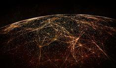 Global International Connectivity Background/Connection lines Around Earth Globe, Futuristic Technology Theme Background with Light Effect - Buy this stock illustration and explore similar illustrations at Adobe Stock Technology World, Futuristic Technology, Technology Gadgets, Technology Updates, Technology Design, Theme Background, Space Photos, Technology Background, Earth From Space