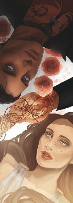Feyre & Rhysand // acotar, acomaf, acowar, acofas