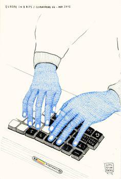 """#DOCUMENTAL #8BITS #COMMODORE 'EUROPE IN 8 BITS' - """"Commodore64"""" Dibujo original de la Commodore 64. Tamaño A4 by www.littleisdrawing.com  EUROPE IN 8 BITS es un documental sobre la reutilización de tecnologías obsoletas de manera creativa para renovar la escena musical.   CAMPAIGN: http://www.verkami.com/projects/1530-europe-in-8-bits  +INFO: http://www.europein8bits.com/  CAMPAIGN: http://www.verkami.com/projects/1530-europe-in-8-bits  +INFO: http://www.europein8bits.com/"""