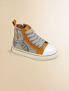 Infants, Toddlers & Kids Alphie Canvas High-Top Sneakers