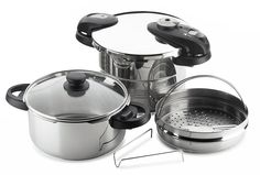 Fagor Futuro 5-Piece Pressure-Cooker Set -- Want additional info? Click on the image.