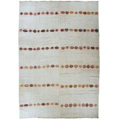 Vintage Hemp Kilim | Turkish Kilim