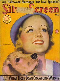 Carole Lombard Silver Screen 5-1934