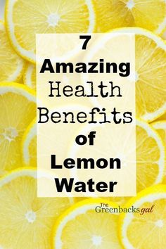 Curious about why people drink lemon water. Find out these 7 Amazing Health Benefits.