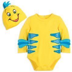Flounder Costume Bodysuit for Baby - The Little Mermaid | shopDisney