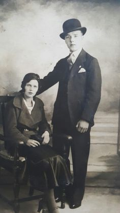 Ethel and James Wicks aged 17