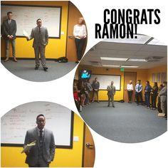 A big congrats to our boy Ramon! #olninc #carson #cali #advancement #promoted