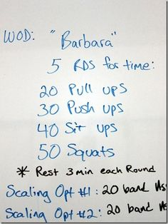 CrossFit Workout Idea