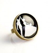 handgemaakte ring  huwelijk juwelen - €6 - www.prettylittlethings.be
