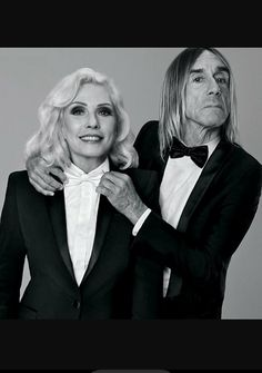 Debbie Harry and Iggy Pop for Paco Rabanne Black XS Be A Legend. from Debbie Harry on punk, refusing to retire and sex at 69 - Telegraph Iggy Pop, Blondie Debbie Harry, Gi Joe, New Wave, Blues, The Stooges, Music Icon, Post Punk, Paco Rabanne