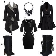 Black style, do you like it? #SammyDress #black #christmasgifts #deals