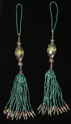 EMERALD GREEN 2013 Color of the YearBEADED by GMBDesignsCustom, $29.00
