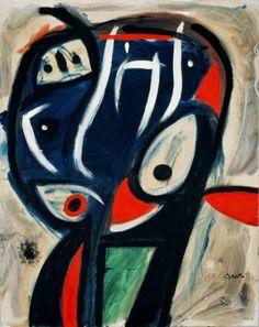 Joan Miró Personnage/ Personaje, 1977 Óleo sobre tela 92 x 73 cm Colección Particular en depósito temporal
