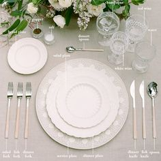 Ladylike Laws: How to Set a Proper Table | Hostess with the Mostest ...