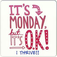 Monday's are no match for #thriving https://nixfix713.le-vel.com/IndustryShift/