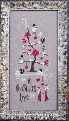 :: ☃ Crafty ☃ Winter ☃ :: Barbara Ana cross stitch patterns and kits