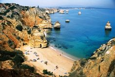 Lagos, Portugal par Jerome Gauthier Portugal, Europe, Sea, Water, Travel, Outdoor, Water Water, Outdoors, Aqua