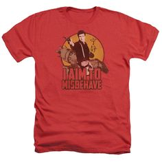 Firefly - I Aim To Misbehave Adult Regular Fit Heather T-Shirt