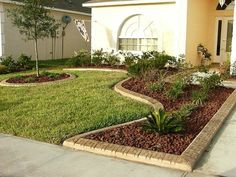 , Best Front Garden Landscaping Ideas and Garden Designs [. , Best front yard landscaping ideas and garden designs Cheap Landscaping Ideas, Landscaping With Rocks, Outdoor Landscaping, Hillside Landscaping, Mailbox Landscaping, Florida Landscaping, Landscaping Plants, Small Front Yard Landscaping, Landscaping Software