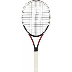 The Prince Warrior Pro 100 is lightweight and maneuverable with ESP for up to 33% greater spin and Pro construction for crisper impact feeling. 	 	This racquet is ideal for players looking for some extra power, spin and mobility without sacrificing control and placement