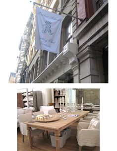 Rachel Ashwell Shabby Chic Courture flagship store in NYC.