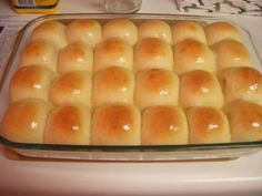 Cafeteria Lady Yeast Rolls