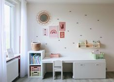 This kind of girls room gray is truly a noteworthy style alternative. Ikea Toddler Room, Ikea Kids Room, Toddler Table, Cool Kids Rooms, Kids Room Furniture, Kids Bedroom, Bedroom Furniture, Furniture Design, Trofast Ikea