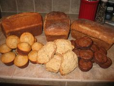 Great soaked flour recipes:   Banana Millet Muffins, Raspberry Muffins or Bread, Spelt Biscuits #Nourishing Traditions #soaked