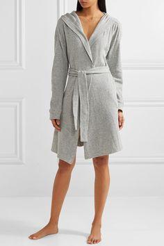 Skin | Waffle-knit cotton robe | NET-A-PORTER.COM