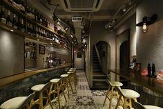 Desain Interior Restaurant Timón di Hong Kong Dengan Tema Bar Spanyol