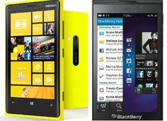 Nokia vs. Blackberry