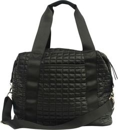 4b06ef2c6aba Nicole Miller New York City Life Large Duffle Black - via eBags.com! This  one is 40% off with code.
