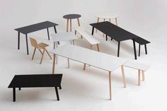Copenhague Deux CPH250 Table by Hay Denmark
