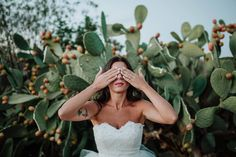 The beautiful bride and the cactus. Image by @marco_schifa, edited with the Flint & Steel presets (coming soon). . . . #triberedleaf…