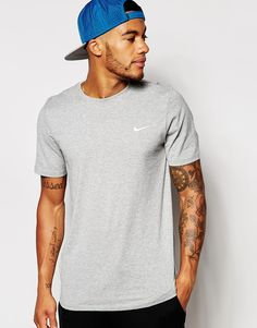 Nike+T-Shirt+With+Embroidered+Swoosh+707350-063