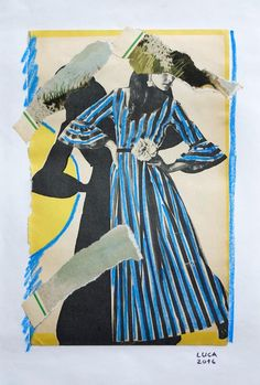 Ioana Luca / Papierarbeiten / 2016