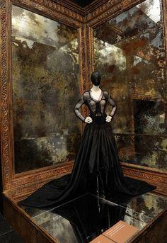 The Alexander McQueen exhibit, Savage Beauty