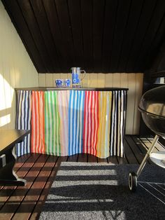 Tee-se-itse-naisen sisustusblogi: Outdoor Grill Table Out Of An Old Kitchen Table