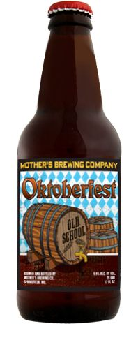 Old School Oktoberfest, by Mother's Brewing Company, is in the tradition of the best craft beers.