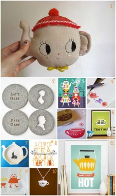 Time for Tea Etsy finds via WeeBirdy.com. #tea #Etsy #presentideas