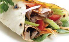 Receitas Saudáveis - Wrap de rosbife com gorgonzola