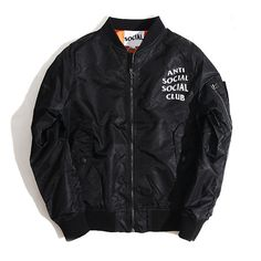 """ANTI SOCIAL SOCIAL CLUB"" BOMBER JACKETS"